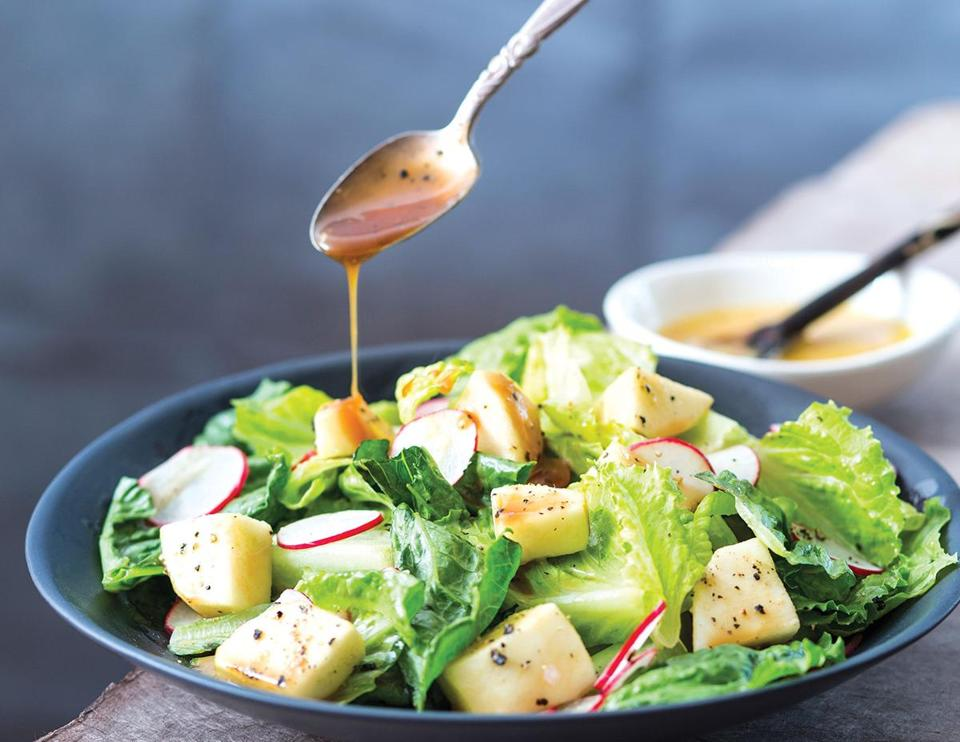 Black Pepper-Caramelized Apple Salad.