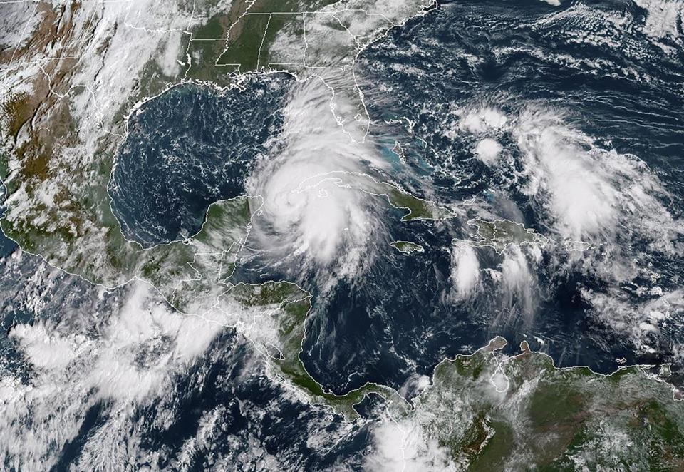 Hurricane Michael made its way through the Gulf of Mexico Monday
