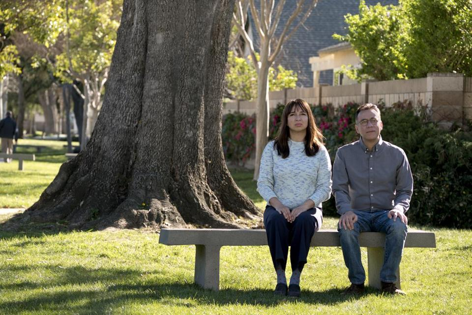 "In Amazon's ""Forever,"" Maya Rudolph and Fred Armisen play married couple living a cozy, predictable life in Southern California."