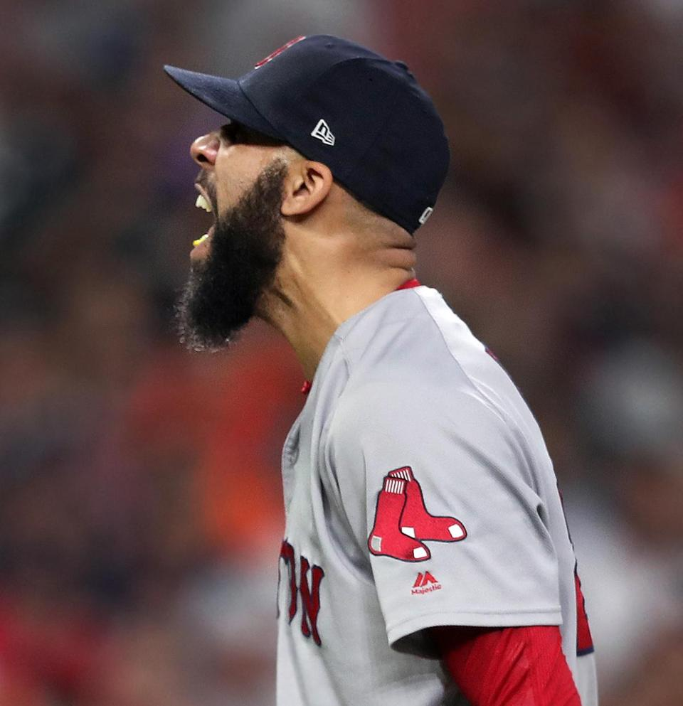 David Price allowed three hits and struck out nine without a walk in Game 5 of the ALCS against the Astros.