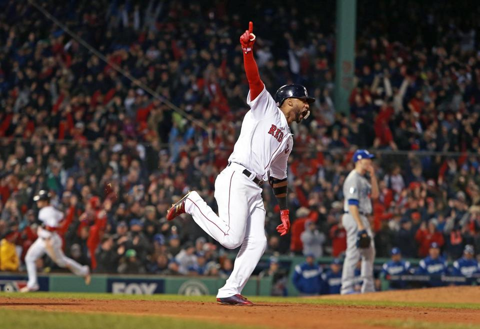 World Series: Game 1, Red Sox vs. Dodgers