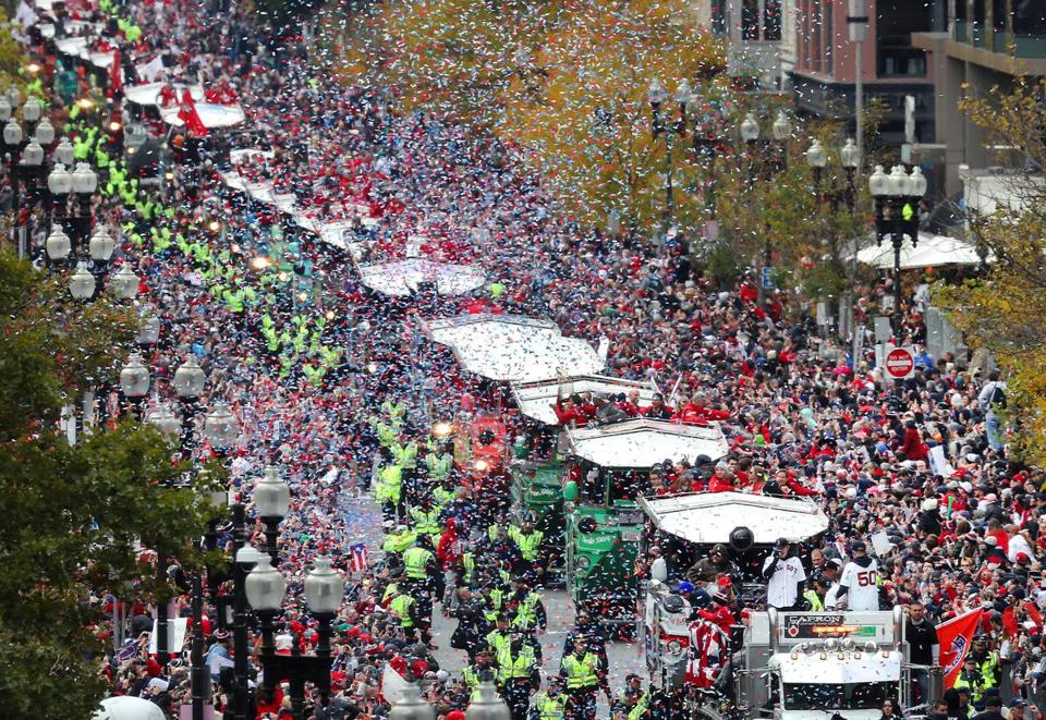 Red Sox 2018 World Series victory parade