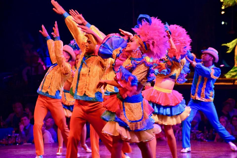 The famed Tropicana show continues to serve up the classic color of pre-Revolution Havana.