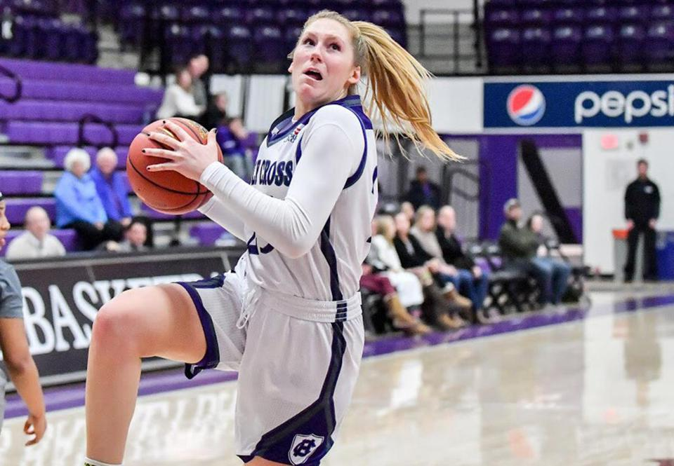 Lauren Manis led Holy Cross with 17.5 points per game last season.