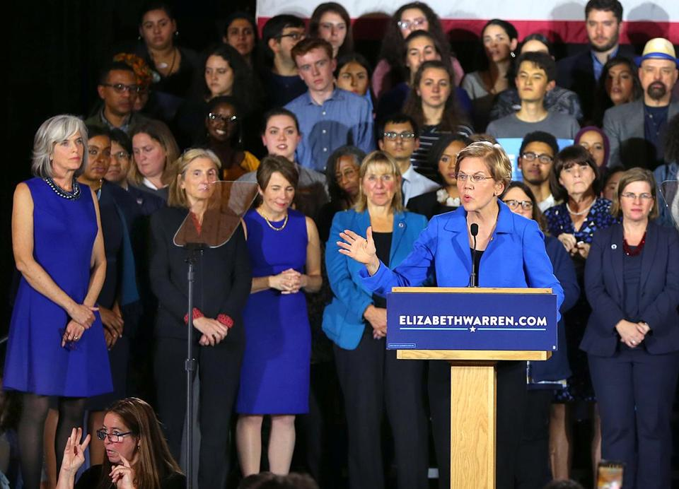 Senator Elizabeth Warren won reelection this week.