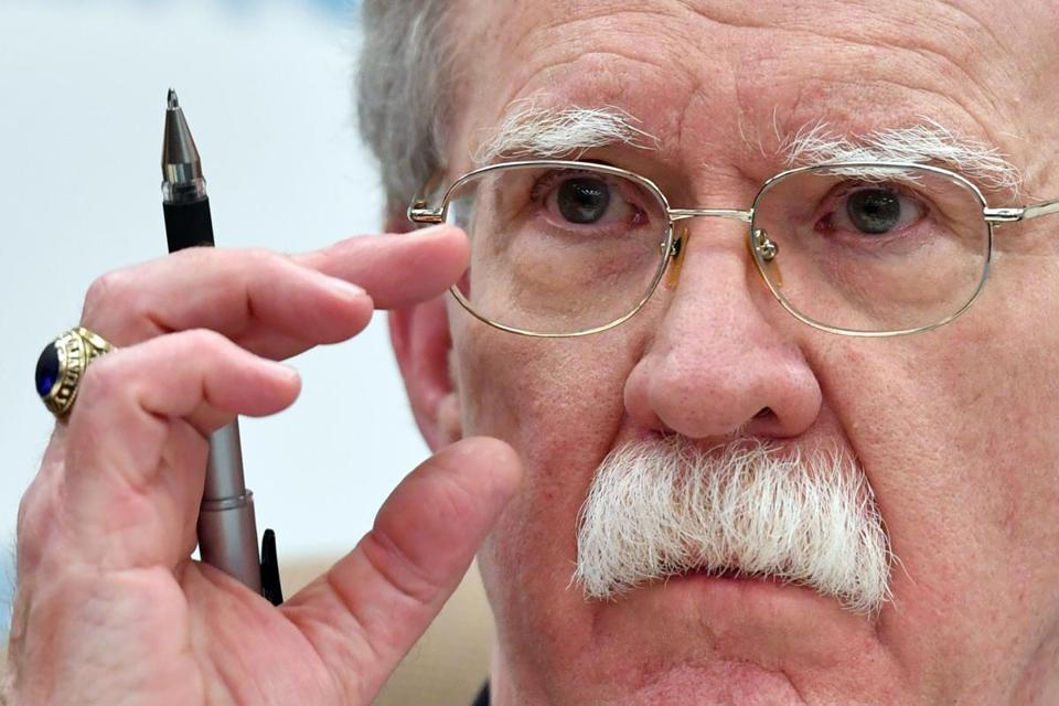 President Trump and his hard-line aides, particularly John R. Bolton, the national security adviser (above), have long disparaged the Intermediate-Range Nuclear Forces Treaty, asserting that Russia has cheated on its terms and that it should include China, which is not a signatory.