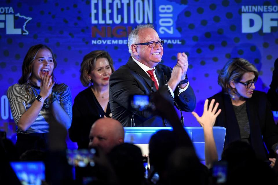 Tim Walz, another onetime NRA favorite, was just elected governor of Minnesota behind a message that included a stern rebuke of the association.