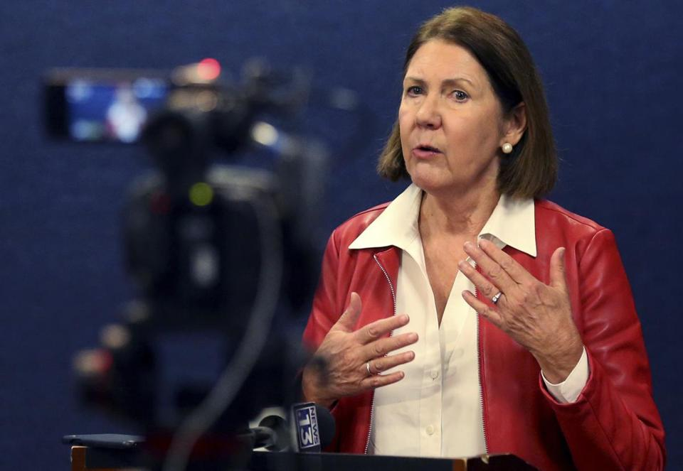 In Arizona, Ann Kirkpatrick was once a vocal defender of the National Rifle Association. Shooting after shooting changed her mind.