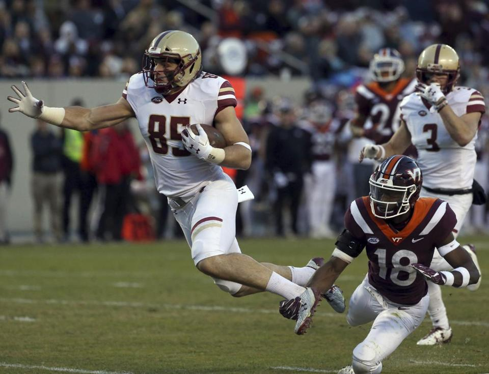 Boston College QB Anthony Brown leaves game injured vs. Clemson
