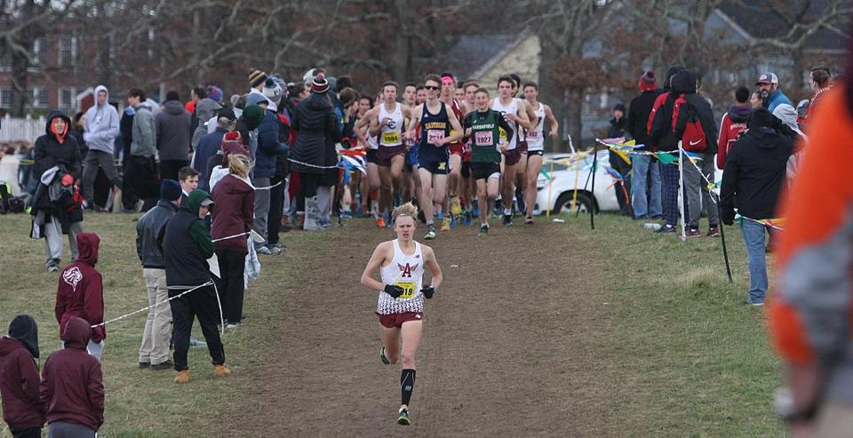 Ryan Oosting was the only runner to finish was a sub-16:00 mark (15:52.75) at All-States.