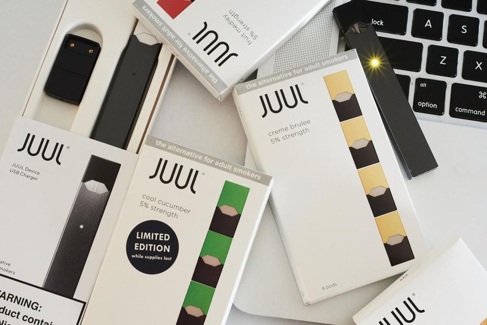 "Juul has said its mission is to provide ""adult smokers with a real alternative to cigarettes,"" but federal regulators in 2018 began taking steps to stem the proliferation of its products."
