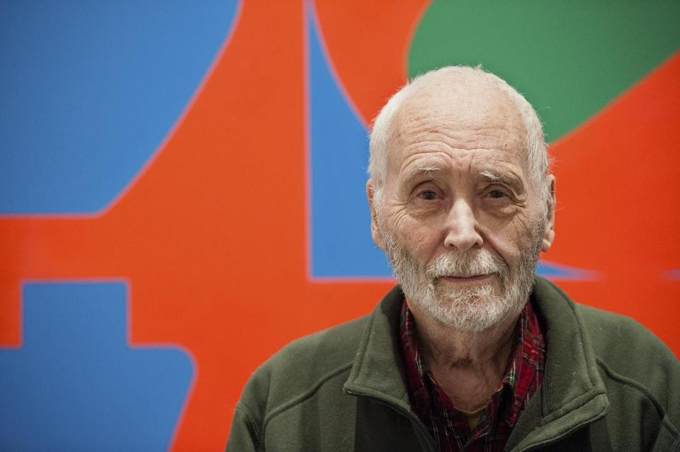 When Robert Indiana (top, in 2013) died in 2018, he left behind his ramshackle residence, the Star of Hope, as well as numerous works of art.