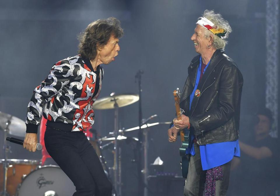 The Rolling Stones are coming to Gillette Stadium