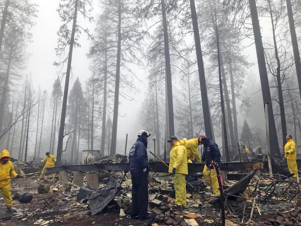 Camp Fire death toll rises to 84 people