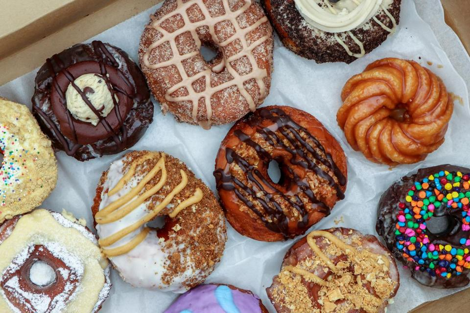 PVDonuts offers fluffy, brioche-style rounds that are on the larger side.