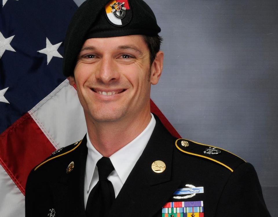 Army Sergeant First Class Eric Emond was killed in Afghanistan on Tuesday.