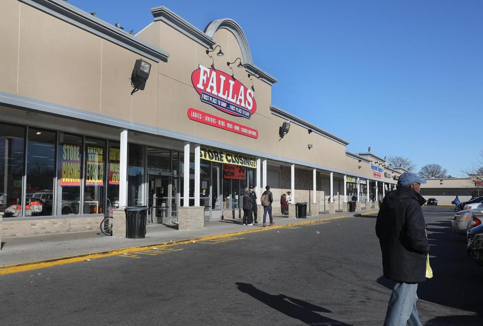 Fallas closed its Dorchester store in late 2018.