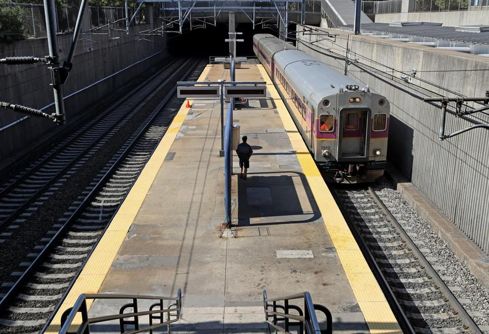 There's rarely a day when the commuter rail system doesn't suffer some kind of delay among its dozen lines. But Keolis says there's been progress.