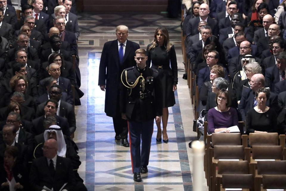 What's closed on national day of mourning for George HW Bush's funeral