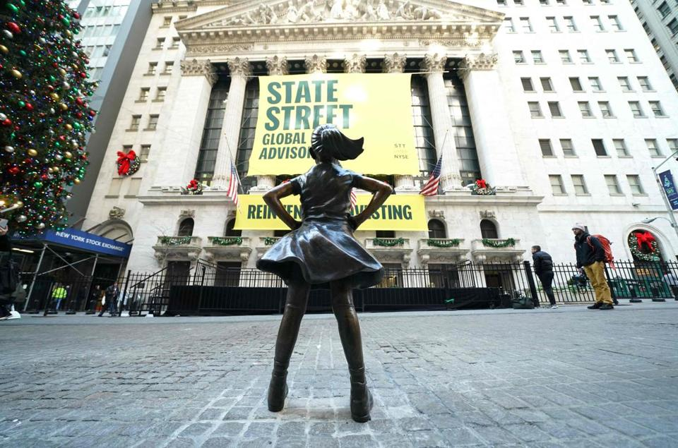 'Fearless Girl' gets new home at New York Stock Exchange