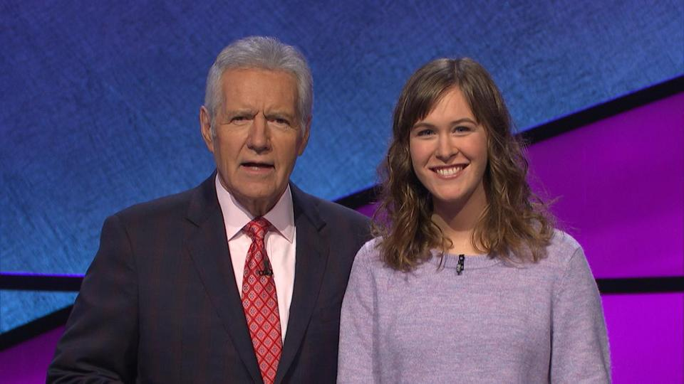 "I was lucky enough to be on ""Jeopardy!"" in December, and meeting Alex Trebek was a highlight of the experience."