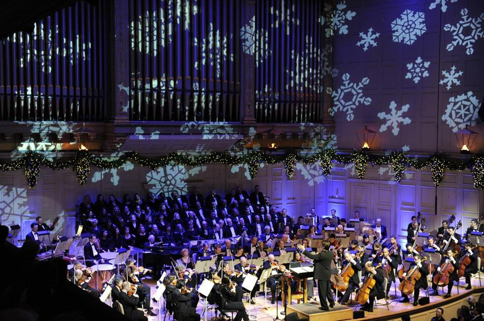 Keith Lockhart and the Boston Pops work together to make music more beautiful than any one of them could create by themselves.