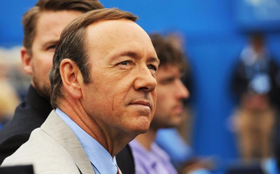Kevin Spacey posts freaky  video as assault charge is announced