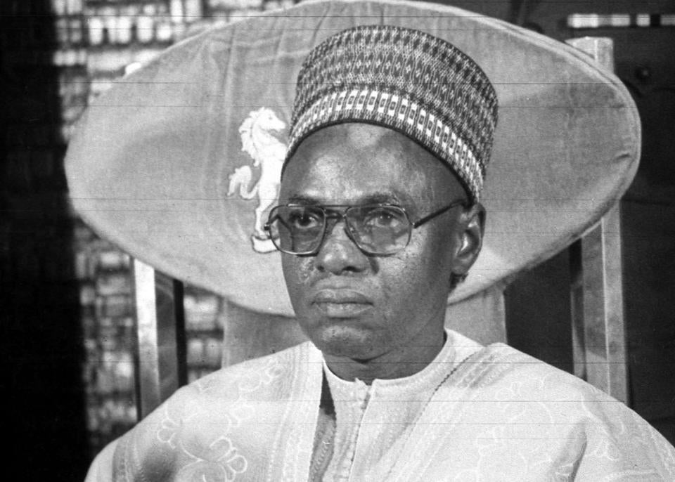 Mr. Shagari was president for just over four years, winning two elections.