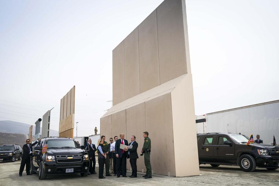 Trump's promise of a wall may not be fulfilled as advertised