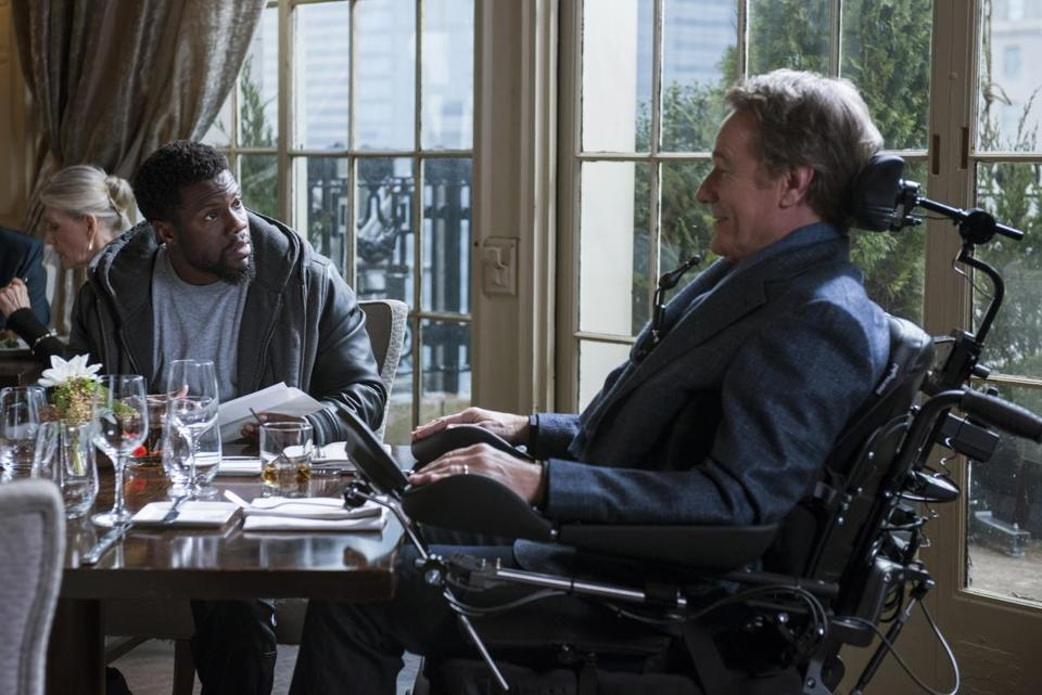 Kevin Hart and Bryan Cranston star in THE UPSIDE.