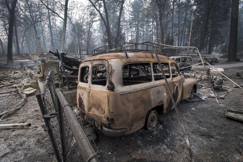 Camp Fire: Trump says he's told FEMA to halt relief money