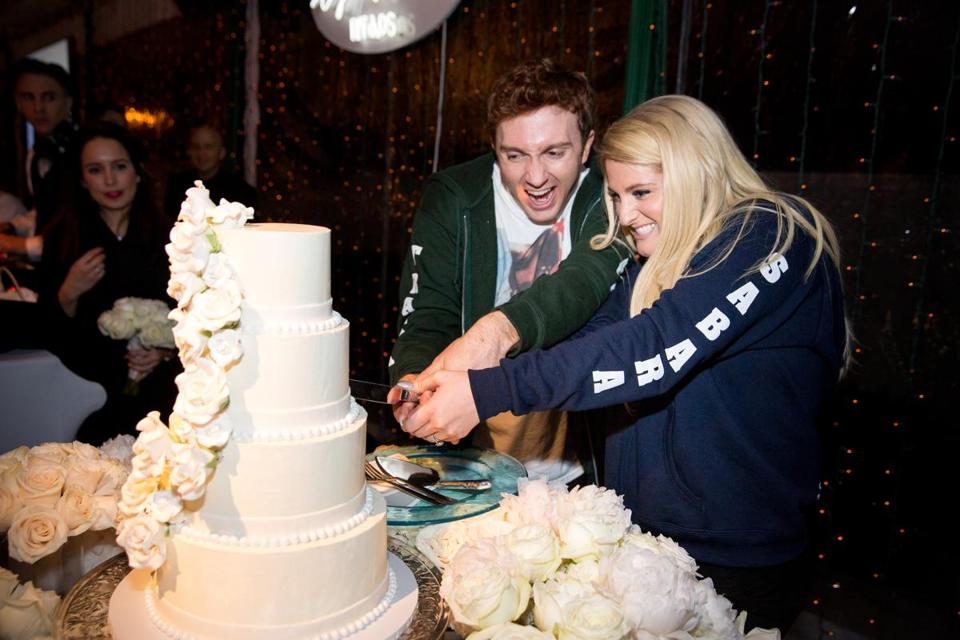 Meghan Trainor and Daryl Sabara's wedding (Joe Buissink Photography) ONE TIME USE ONLY FOR 11NAMESTRAINOR (Joe Buissink Photography) ONE TIME USE ONLY FOR 11NAMESTRAINOR