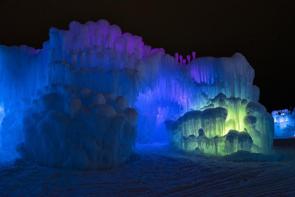 Ice Castles returns for its sixth year on Friday, and this time it will be held in North Woodstock, N.H.