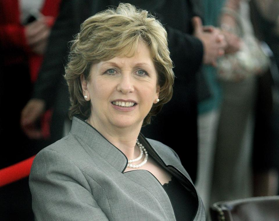 "Mary McAleese, the former president of Ireland, said, ""I still believe the world needs the hope of God and the church as a conduit,"""
