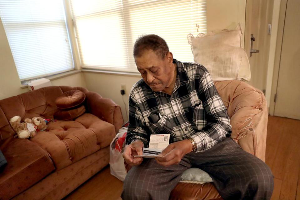 Clarence Hogan, 87, has been pinched by big jumps in his out-of-pocket costs for prescription drugs.
