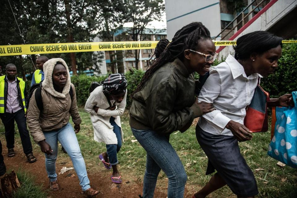 Gunmen attack 14 Riverside in Nairobi, Kenya