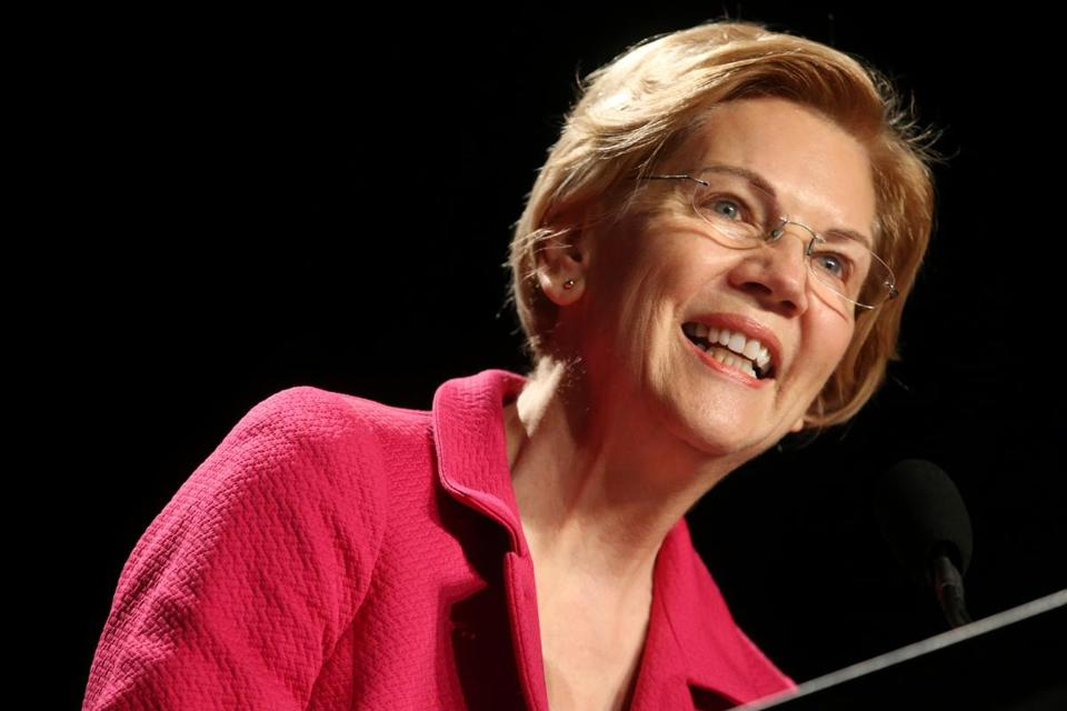 Elizabeth Warren Announces She is Running for President in 2020