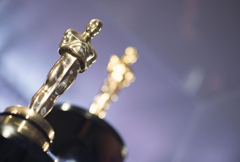 "(FILES) In this file photo taken on March 1, 2018 Oscars statuettes stand on display during a preview for the Governors Ball during the 90th annual Academy Awards week in Hollywood, California. - Will ""Black Panther"" get a best picture nod? Will ""Roma"" be Netflix's first contender for the Academy's top prizes? Will ""A Star Is Born"" rebound from a thumping at the Golden Globes? All will be revealed on the morning of January 22, 2019 before dawn in Los Angeles, when the nominations for the Oscars -- Hollywood's most coveted awards -- are unveiled, just over a month before they are distributed. (Photo by VALERIE MACON / AFP)VALERIE MACON/AFP/Getty Images"