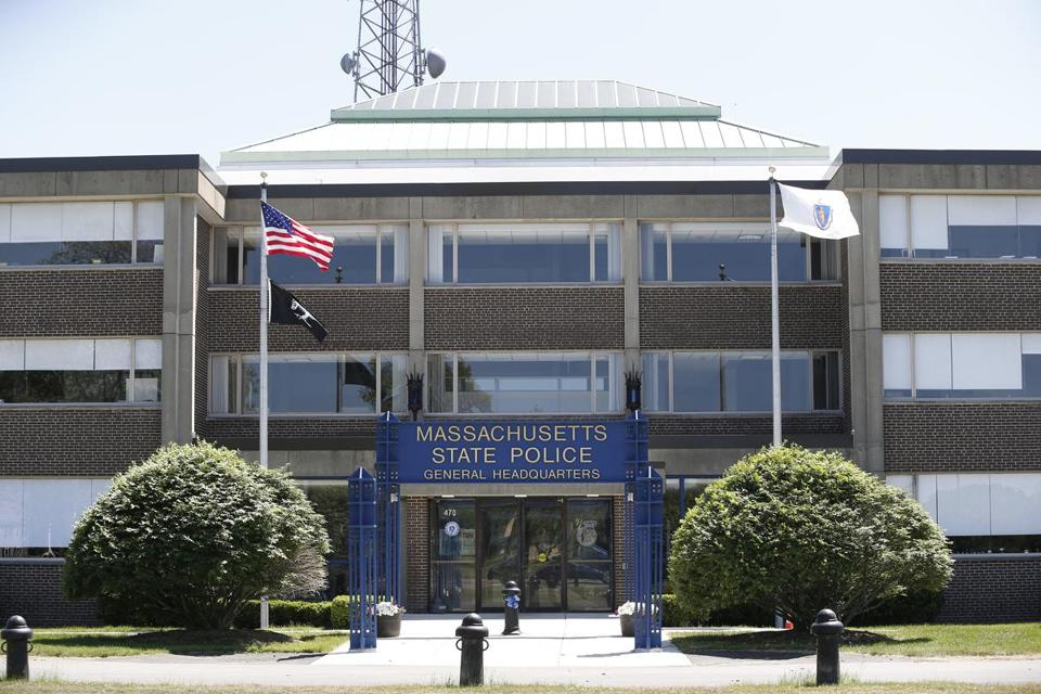 State Police Headquarters in Framingham.