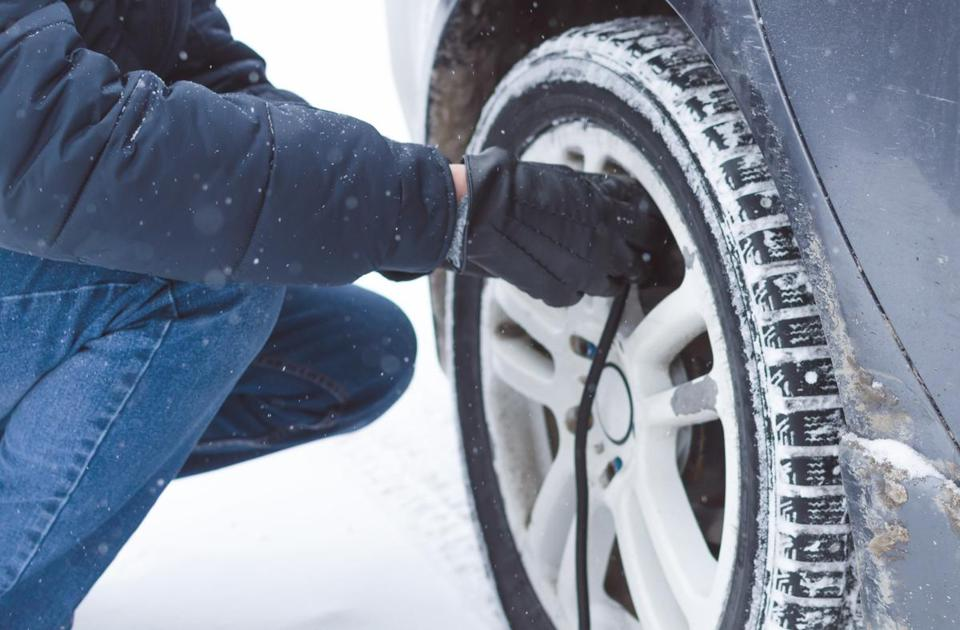 Air pressure can affect steering, handling, gas mileage, and the life of the tires themselves.