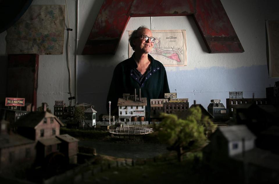 Todd Gieg has spent years building a hyper-realistic model of the Boston, Revere Beach and Lynn Railroad.