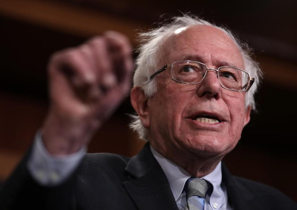 "Vermont US Senator Bernie Sanders advocated for ""Medicare for all"" as he sought the Democratic nomination in the 2016 elections. The idea is gaining support in Washington."