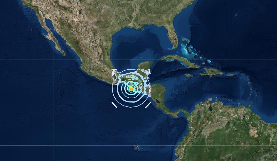 Magnitude earthquake hits southern Mexico, sways buildings in capital