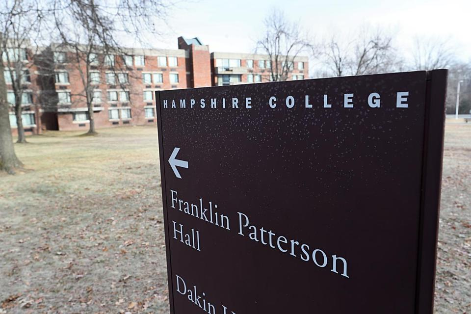 The development comes a week after Hampshire College's president and trustee leadership resigned amid a financial crisis.