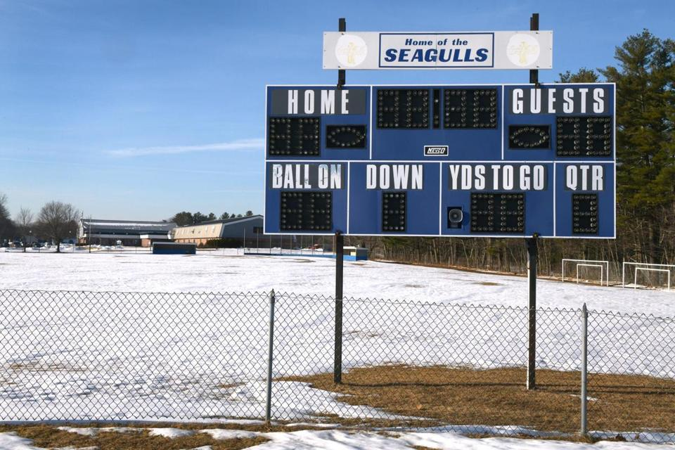 The Maine Principals' Association is recommending a smaller field for eight-man football, but teams will be allowed to decide.