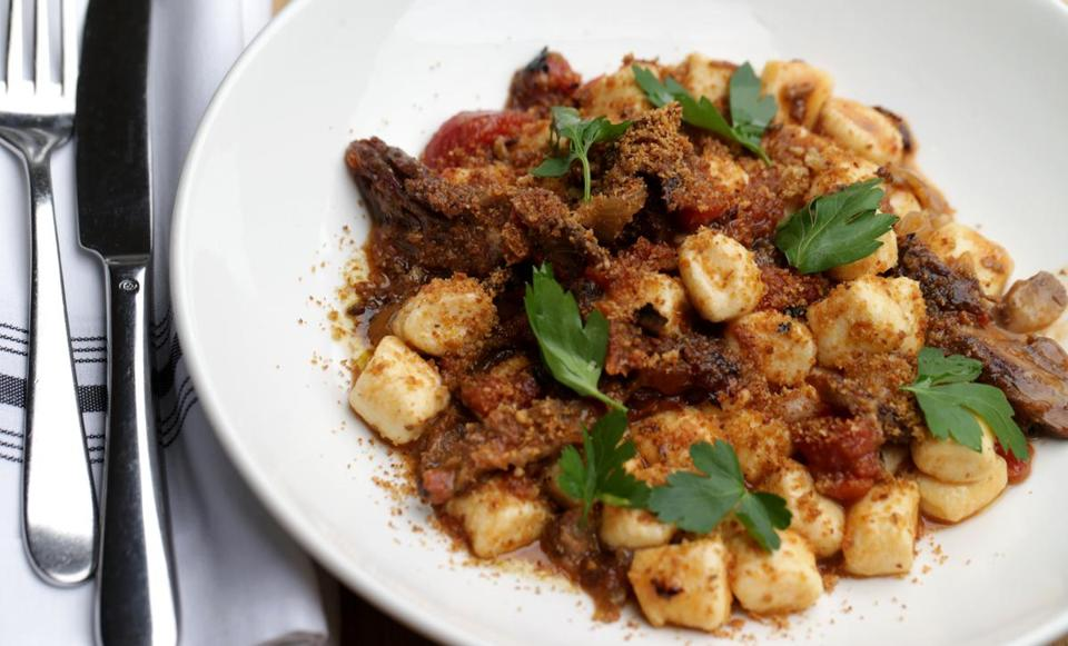 02/06/2019 Cambridge MA. - Ricotta Gnocchi at Luce Restaurant in Cambridge. .Wiggs/Globe StaffReporter:Topic: