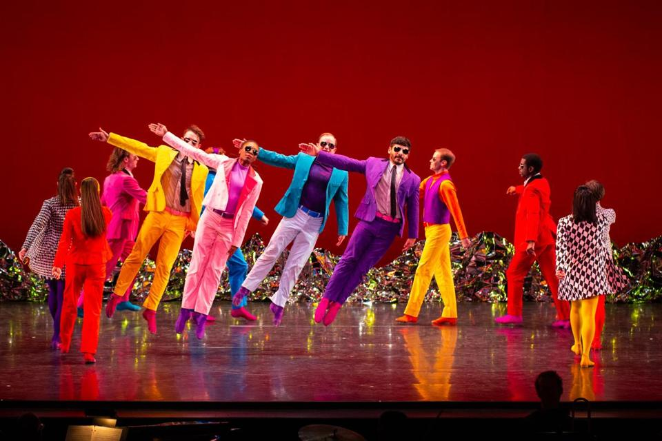 "The Mark Morris Dance Group in ""Pepperland."""