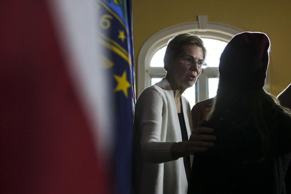Senator Elizabeth Warren spoke to supporters Saturday during an event in Dover, N.H. New Hampshire officials fret that the first-in-the-nation primary could be losing its influence.