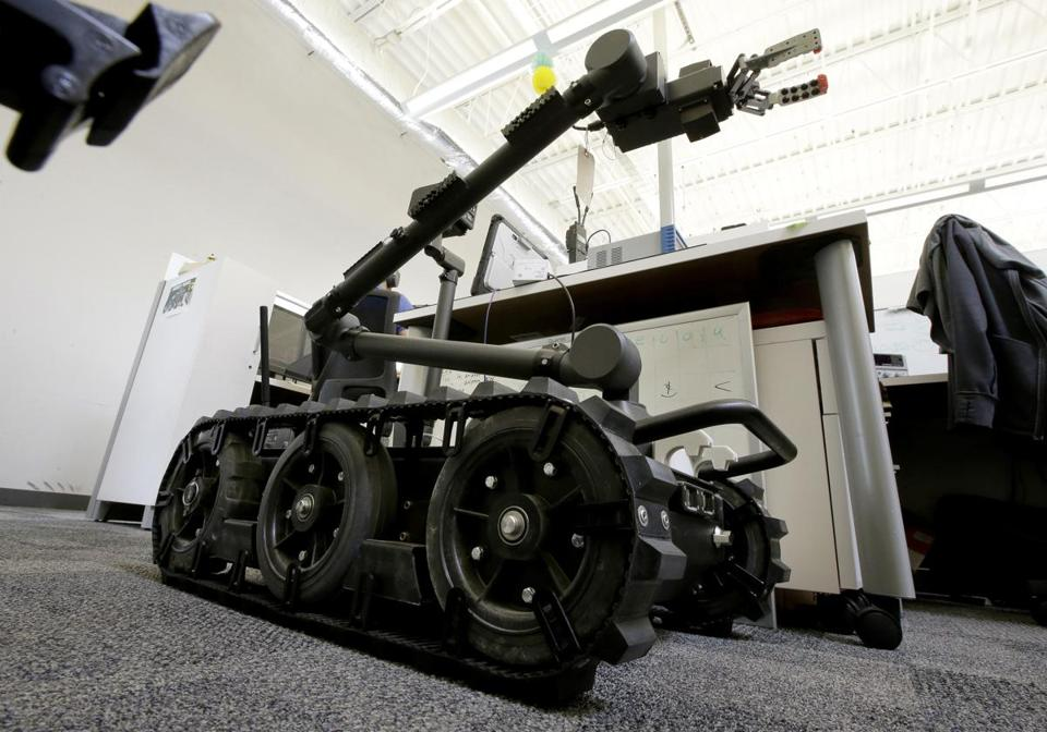 Endeavor Robotics in Chelmsford supplies robots to US and allied military forces.