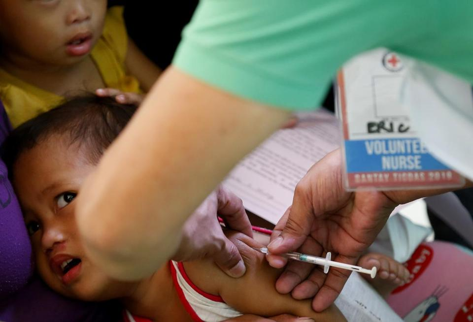 Philippines says 136 people have died in measles outbreak